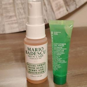 New never used spa Duo Mario Badescu Facial spray